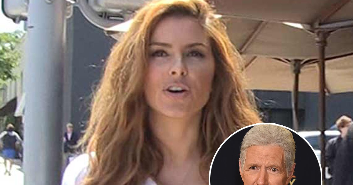 Maria Menounos Wants Alex Trebek to Slide Into Her DMs for Cannabis Advice