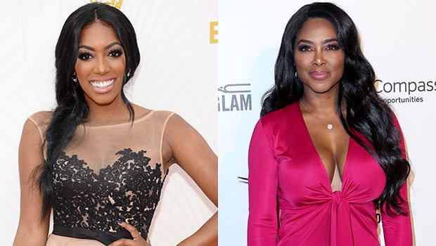 Porsha Williams & Kenya Moore All Smiles While Filming 'RHOA' Together After Years Of Feuding — Pic
