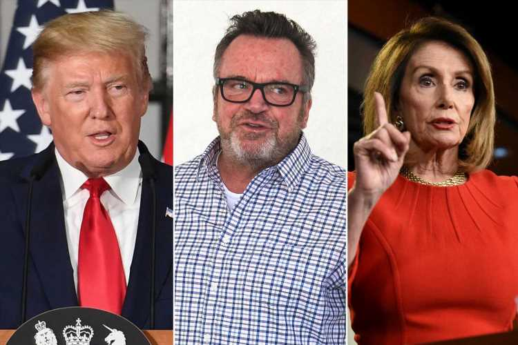 Tom Arnold gets political after accepting gay pride award