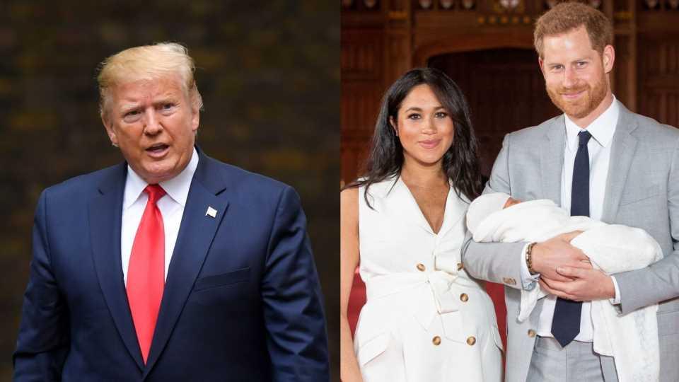 President Trump Is Still Talking About Meghan Markle After Calling Her 'Nasty'