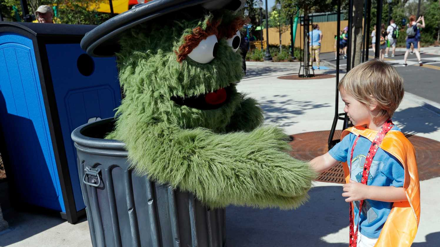 Big Bird, Elmo and more 'Sesame Street' muppets were D.C. tourists this weekend