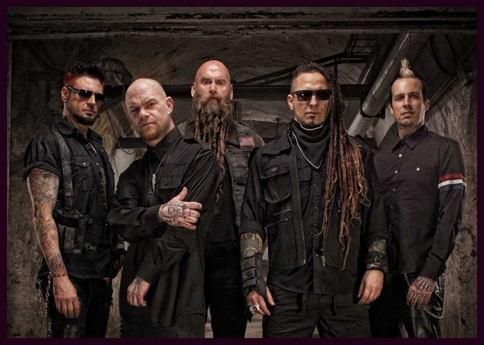 Five Finger Death Punch Top Mainstream Rock Songs Chart With 'Blue On Black'