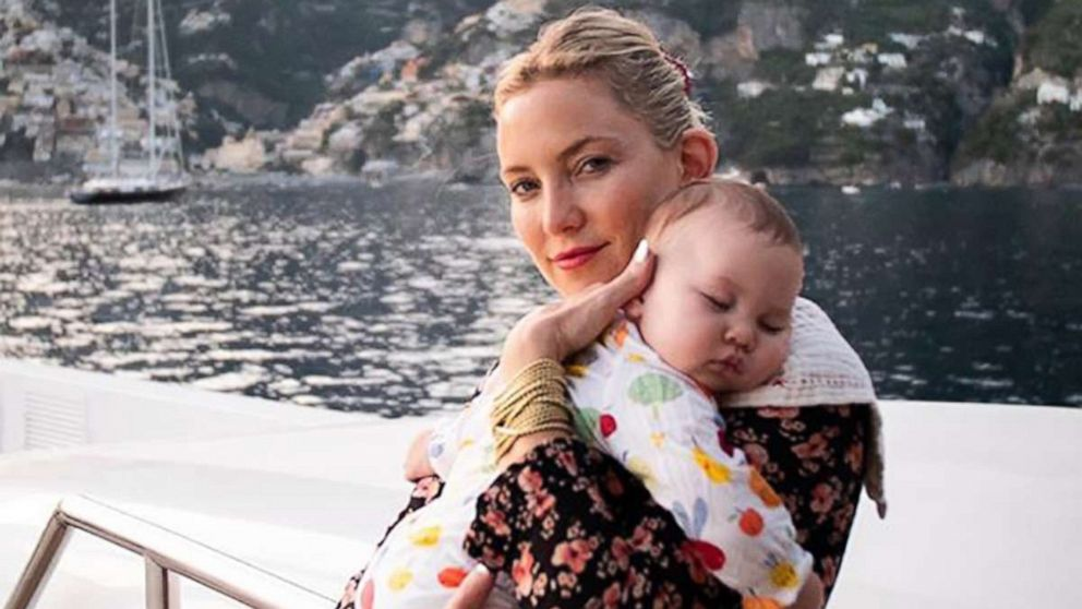 Kate Hudson shares adorable photos from her family vacation