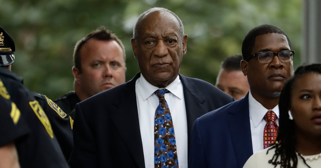 Bill Cosby, Calling His Trial Unfair, Files a Formal Appeal
