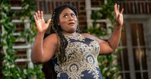 Review: In Central Park, a 'Much Ado' About Something Big