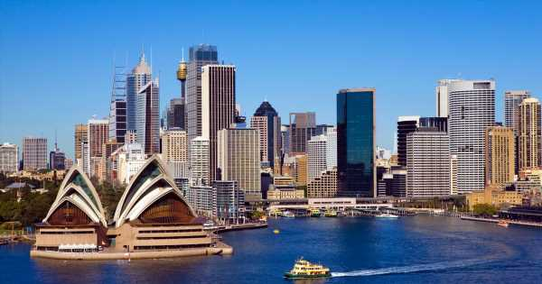Return flights to Australia are going from £574pp but you'll want to book soon