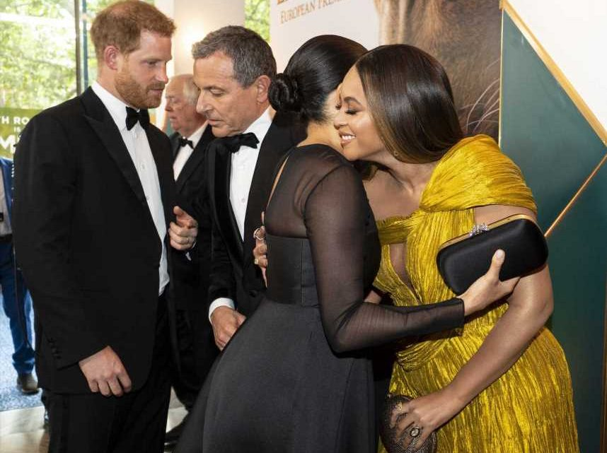 Beyonce called Meghan Markle 'my princess' on The Lion King red carpet, according to eagle-eyed fans – The Sun
