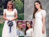 Teenager saves hundreds by wearing her mum's 'vintage' 90s wedding dress to her school prom – 20 years after her parents got hitched – The Sun