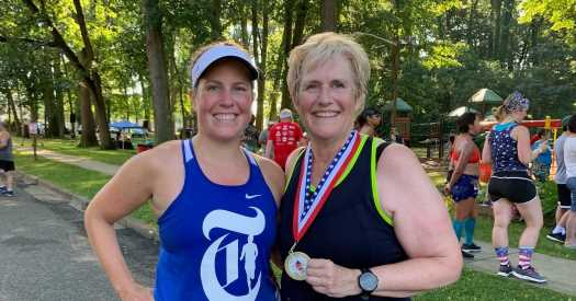 Running With My Mom: First Steps Toward the New York City Marathon