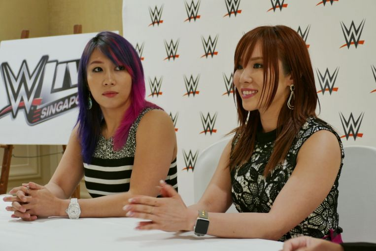 WWE's Kabuki Warriors have their eyes on the prize