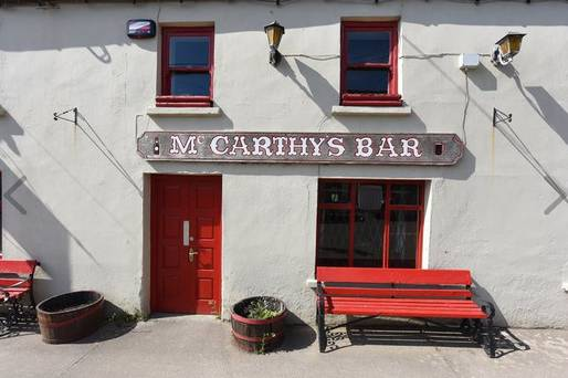 Traditional Irish pub close to scenic spot is now on the market for €225,000