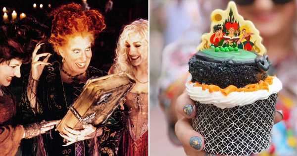This Hocus Pocus Cupcake at Disney World Has So Many Details — How Many Can You Spot?