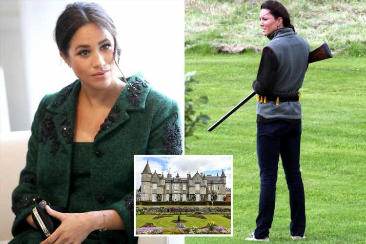 Animal lover Meghan Markle 'won't be grouse hunting at Balmoral as it's been cancelled for the year due to fall in numbers' – The Sun