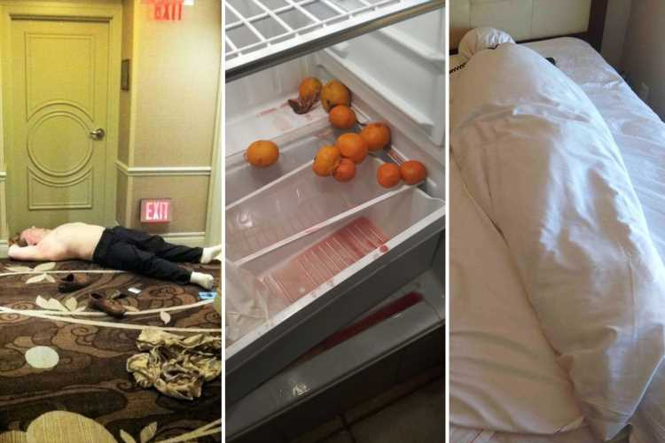 Are these the worst hotel guests ever? Disgusting tourists spotted leaving everything from sex toys to mountains of rubbish in their rooms – The Sun