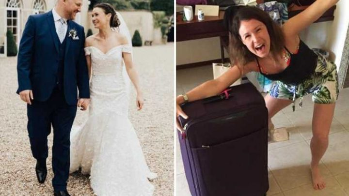 Newlyweds slam British Airways for 'wrecking' their honeymoon after they lost the bride's bag for six days in luggage blunder – The Sun
