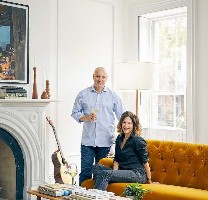 See Inside Top Chef Judge Tom Colicchio's Brooklyn Brownstone — Including the Massive Kitchen!