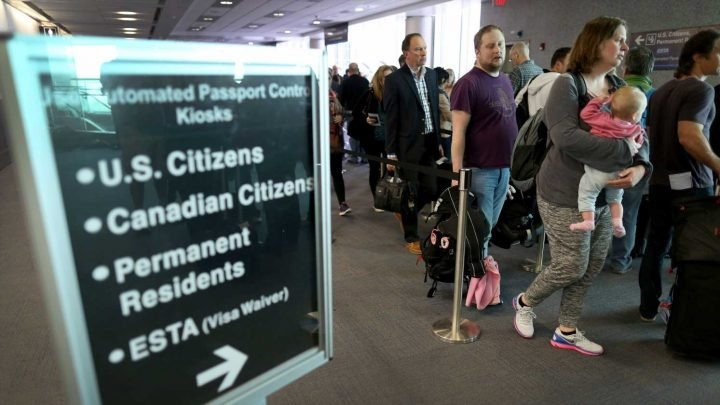 U.S. Customs system shutdown causes major delays at airports nationwide