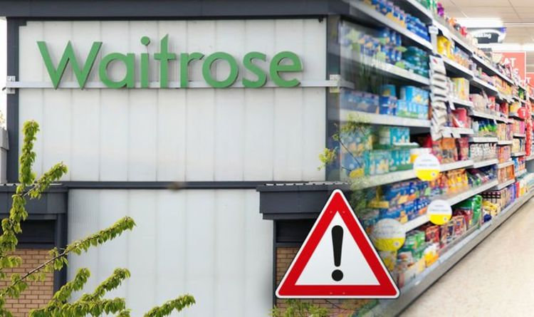Waitrose food recall: Supermarket issues urgent warning over serious health risk