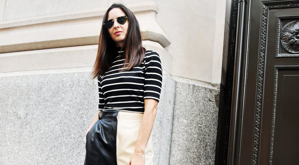 Easy Outfits: the Simple Way to Style Leather Pants For Fall