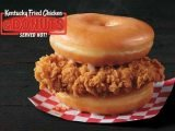 KFC's Fried Chicken & Donuts Sandwich Is Being Tested For A Salty Sweet Twist On The Classic