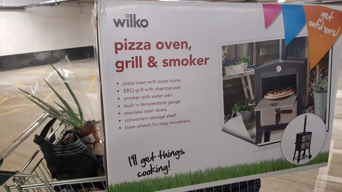 Wilko's is selling a pizza oven, grill and smoker for just £30