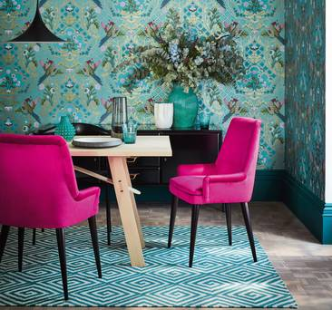 Forget Hygge and Scandi minimalism, this autumn it's all about maximalism