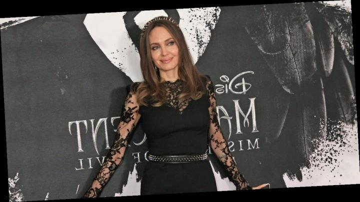 Angelina Jolie's Spiked Accessories Brought Just the Right Amount of Edge to the Red Carpet