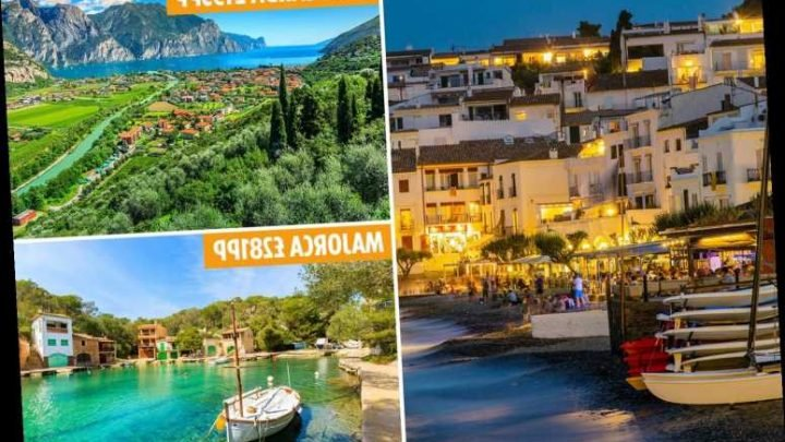 Last-minute October half-term holiday deals including 7 nights in Costa Brava from £203pp