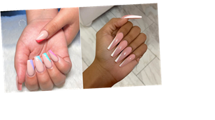 "The ""Side Tip"" Nail Art Trend May Be Your Next Go-To If You're Over the French Manicure"
