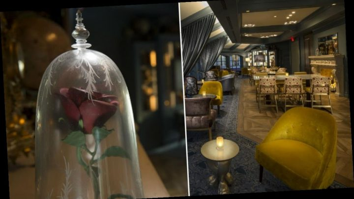 Disney's Enchanted Rose Lounge Is Made For 'Beauty And The Beast' Fans