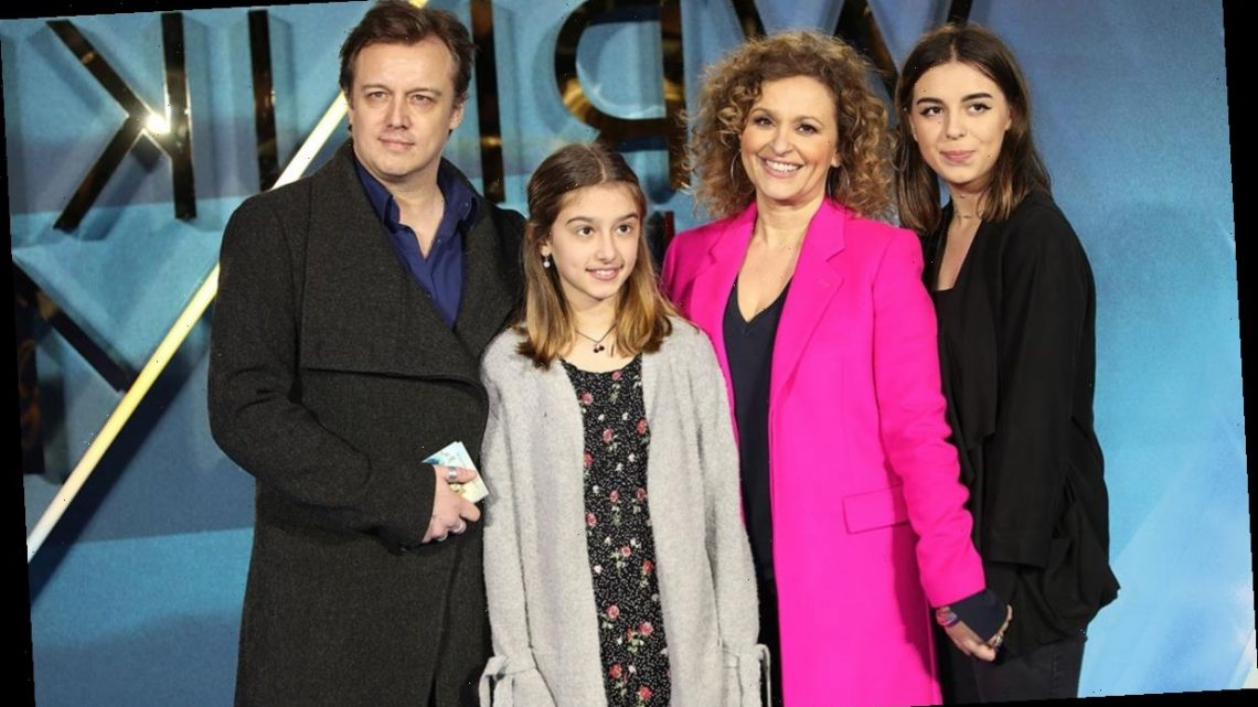 Loose Women's Nadia Sawalha shows off her daughters at star-studded premiere