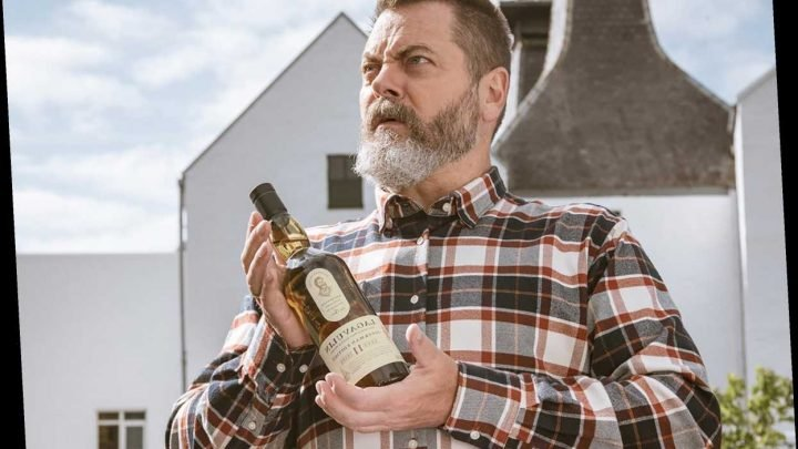 Nick Offerman Is Getting His Own Limited-Edition Lagavulin Whisky That He Created Himself