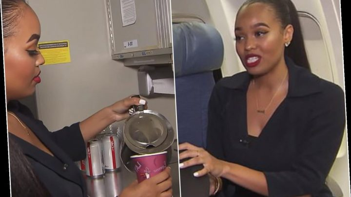 Air stewardess reveals what you should NEVER do on planes… including ordering hot drinks