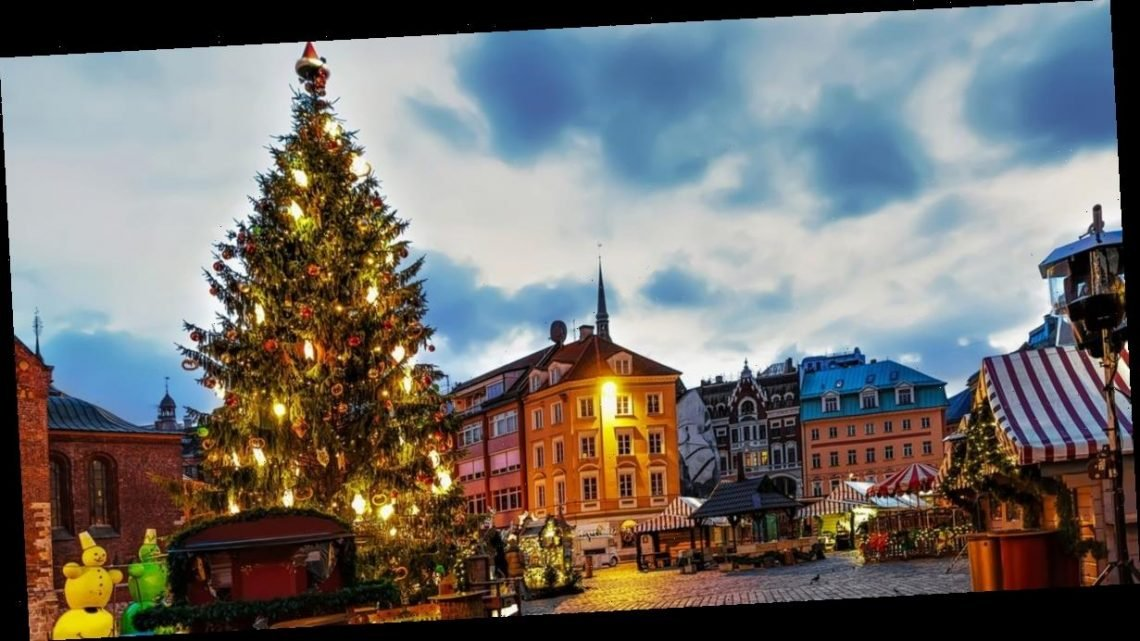 Christmas market breaks are going for £99pp but you find out where after booking