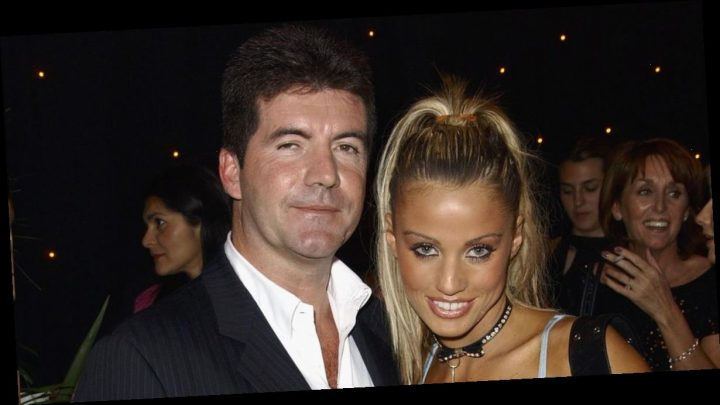 Katie Price claims she spent night in Simon Cowell's bed and 'ran her fingers through his chest hair'