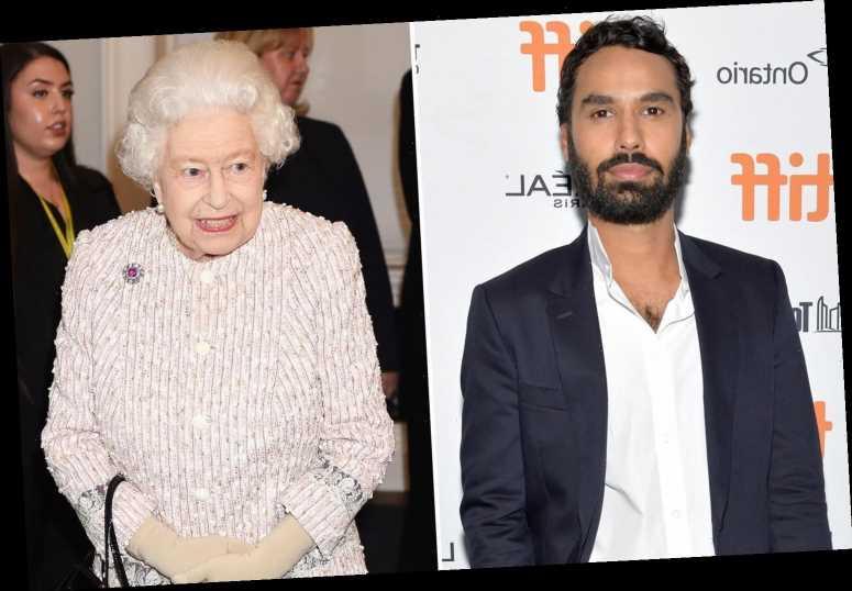 The Queen almost caused The Big Bang Theory's Kunal Nayyar to FAINT after actor had 'panic attack' during their meeting