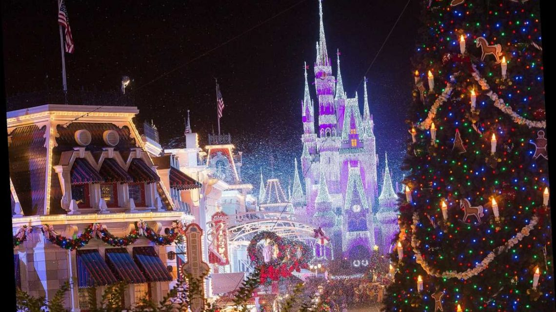 How Does Disneyland Deck the Halls? 300 Christmas Trees, 100,000 Flowers and So Much More