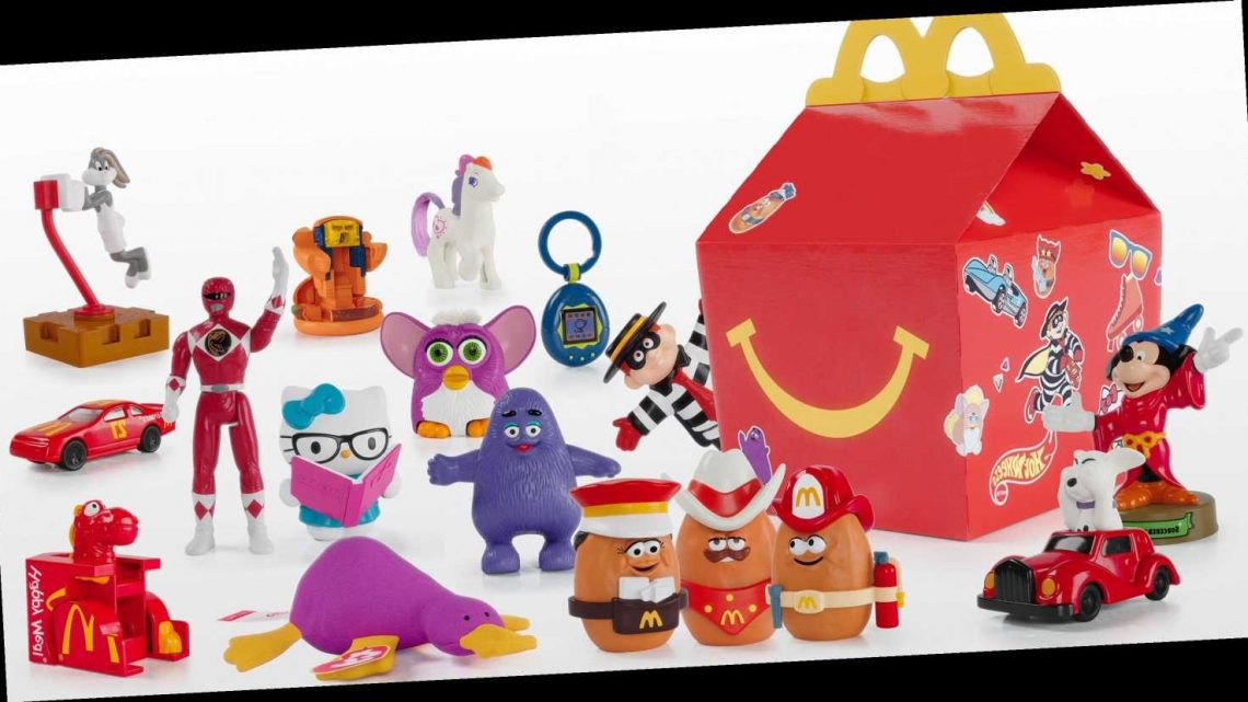 McDonald's Happy Meals Just Brought Back Throwback Toys to Celebrate 40 Years