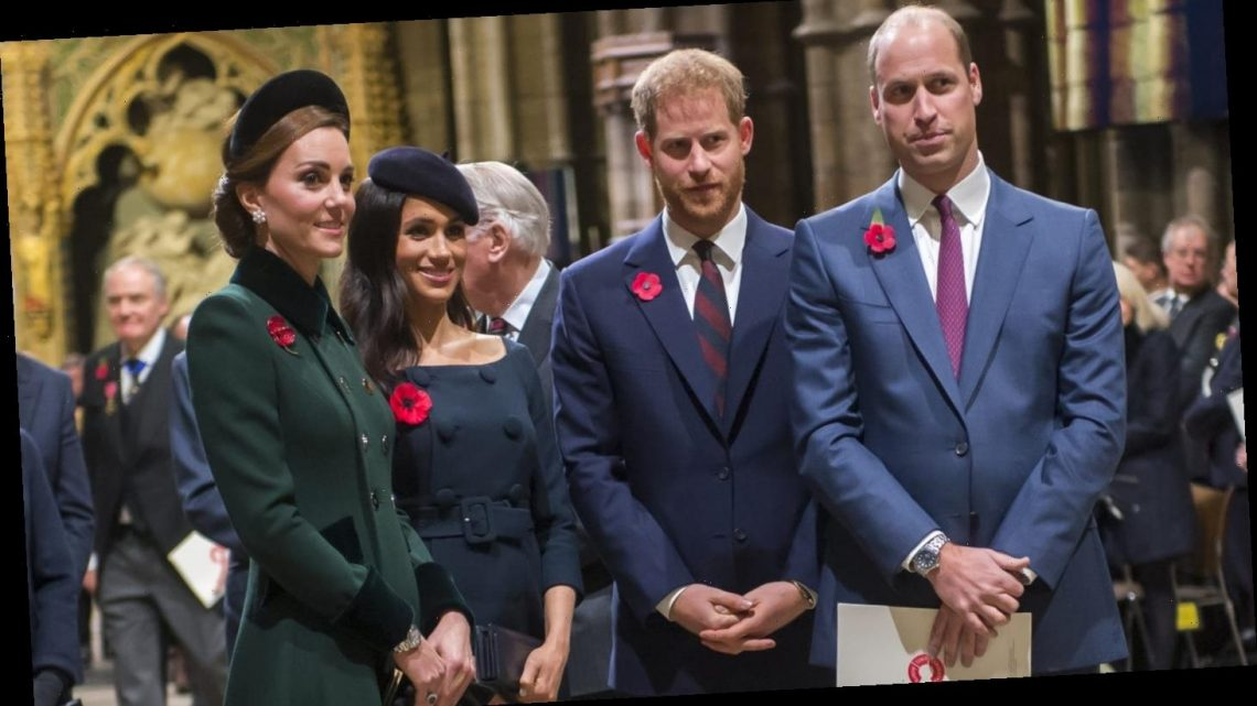Will & Kate, Harry & Meghan set to reunite, will step out together for Remembrance Day