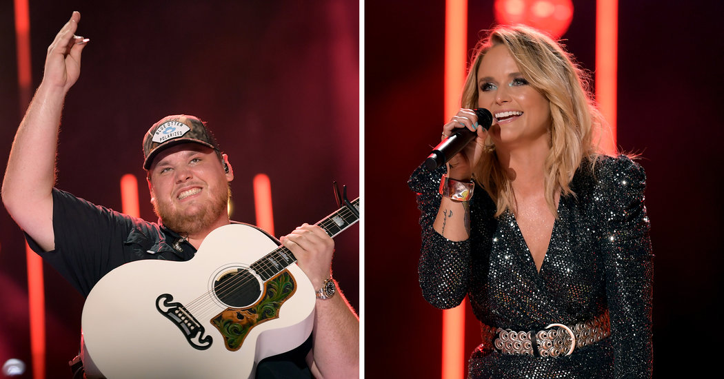 Luke Combs and Miranda Lambert, Both Bound by Country's Gendered Rule Book