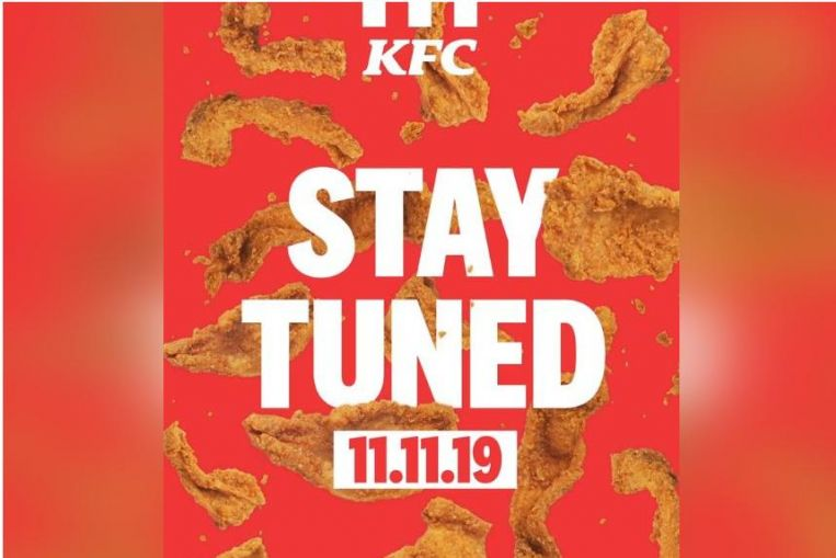 KFC launching fried chicken skin snack on Nov 11