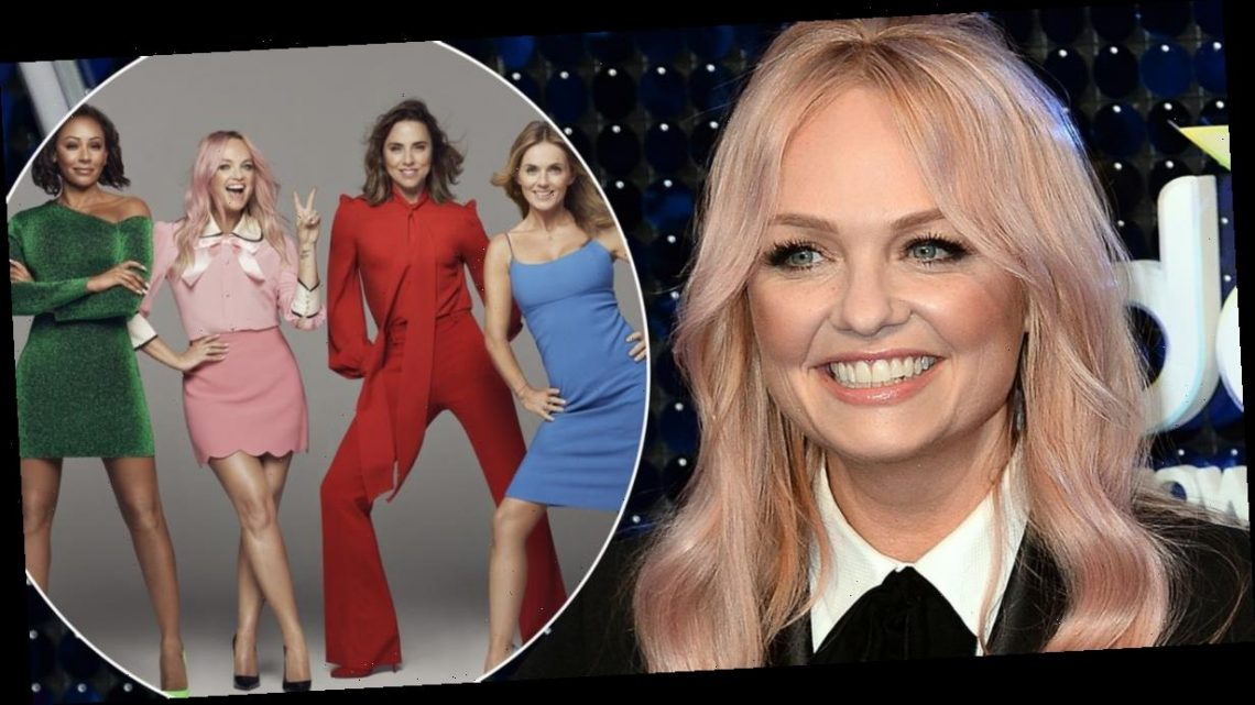 Emma Bunton claims the Spice Girls are stronger 'as a four-piece' without Victoria Beckham