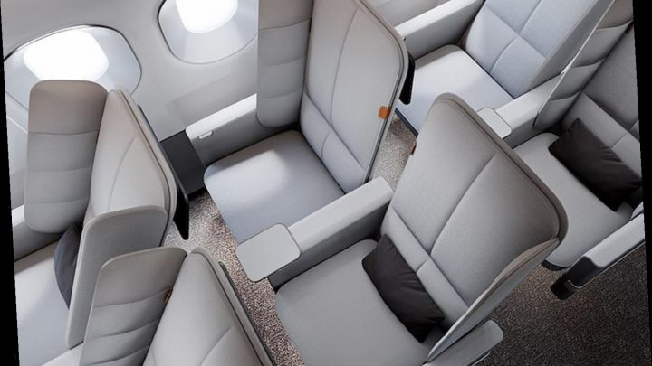 Plane seats with padded privacy panels that double as a headrest could finally make flying economy comfortable – The Sun