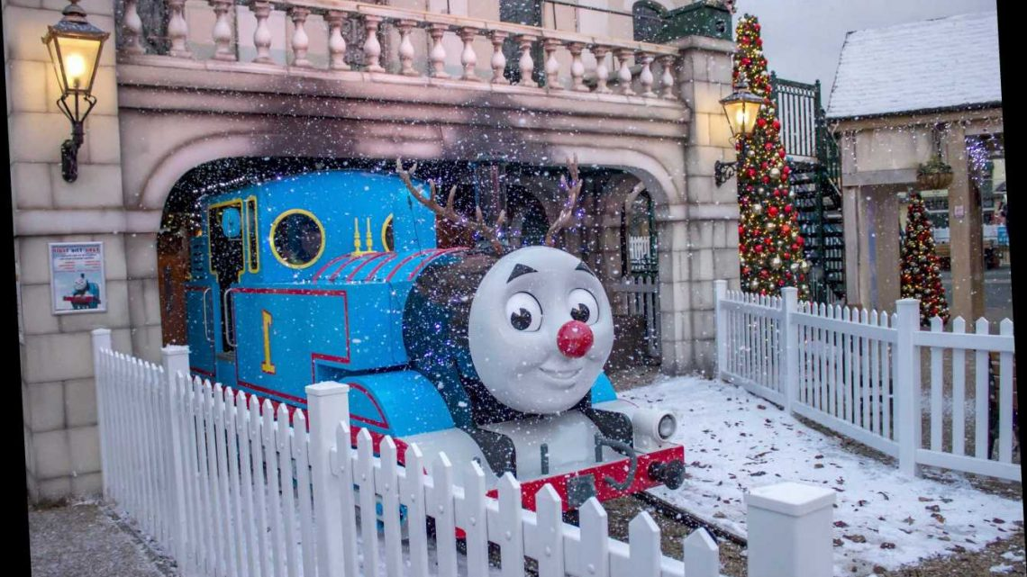 Thomas Land is pure childhood indulgence for fans of the talking train and his steam-propelled pals – The Sun