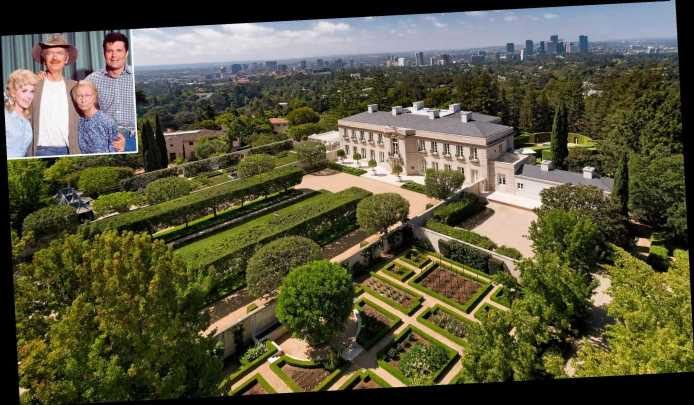 The Real Beverly Hillbillies Mansion Sells for about $150M, the Highest Price in California History — See the Photos!