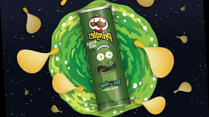 Pringles Is Releasing a Pickle Flavor Thanks to Rick and Morty