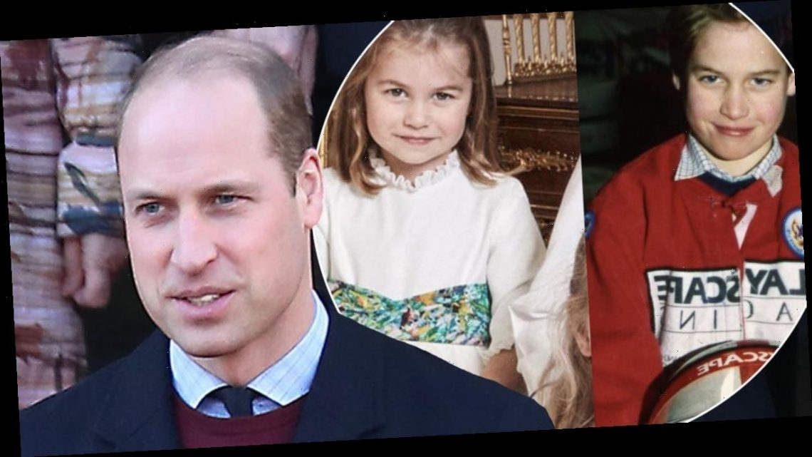 Prince William left shocked after mistaking a childhood photo of himself for Princess Charlotte