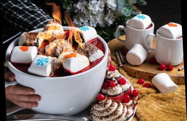 PHD Terrace's Cup Of Flaming Red Velvet Hot Chocolate Is Coming & OMG