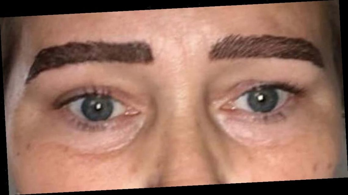 Woman mortified after microblading treatment leaves her with 'monster eyebrows'