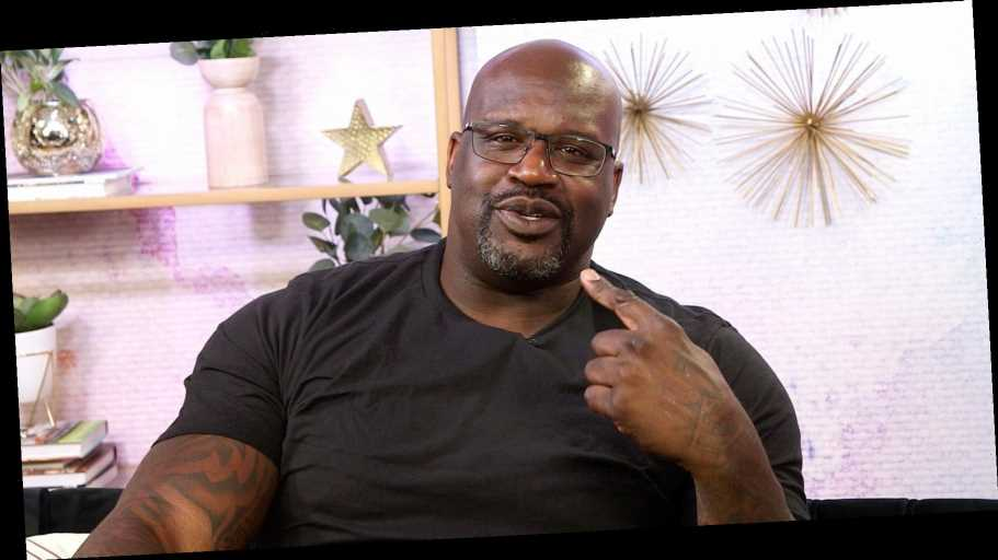 Shaquille O'Neal Reveals His Celeb Crush on 'Candlelight Confessions'